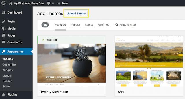 Cómo instalar un tema de WordPress?: Guía para principiantes ...